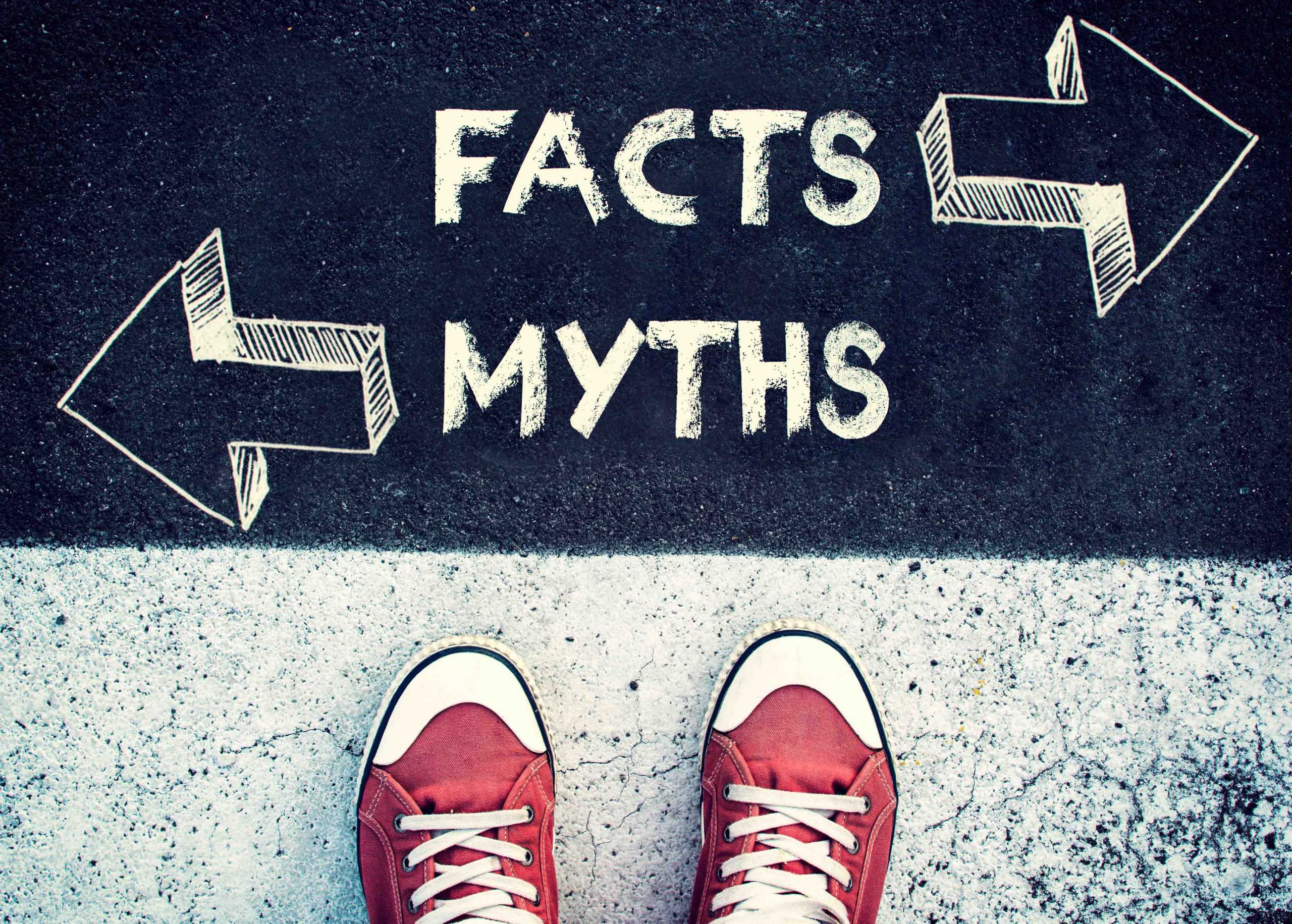 Choice between facts and myth