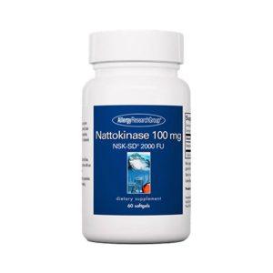 Allergy Research Group Nattokinase 100 mg NSK-SD 60 gels Bottle