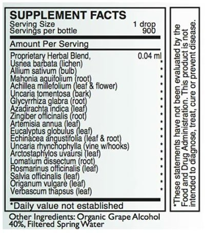 Byron White A-BIO Supplement Facts