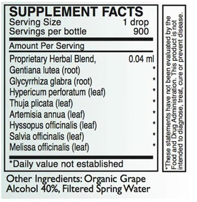 Byron White A-EB/H6 Supplement Facts