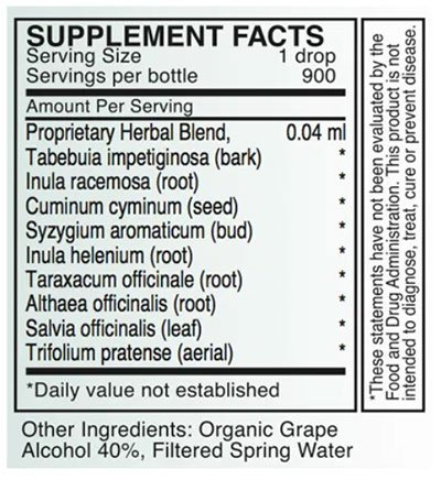 Byron White A-HP Supplement Facts