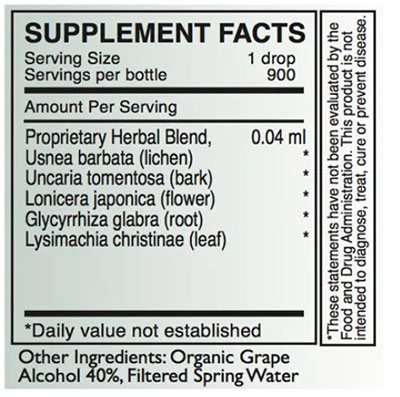 Byron White A-POL Supplement Facts