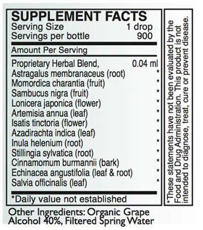 Byron White A-SF Supplement Facts