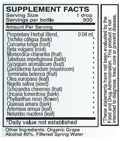 Byron White A-XM Supplement Facts
