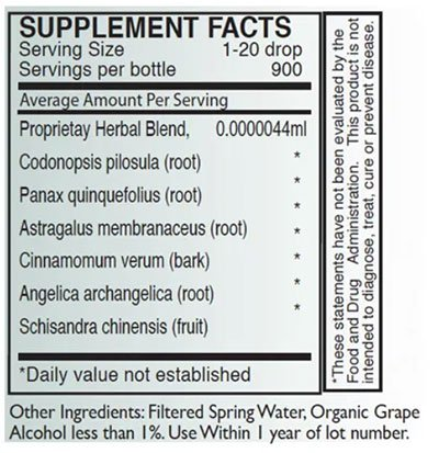Byron White YANG Supplement Facts
