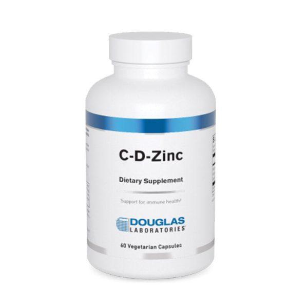 Douglas Labs C-D-Zinc Bottle