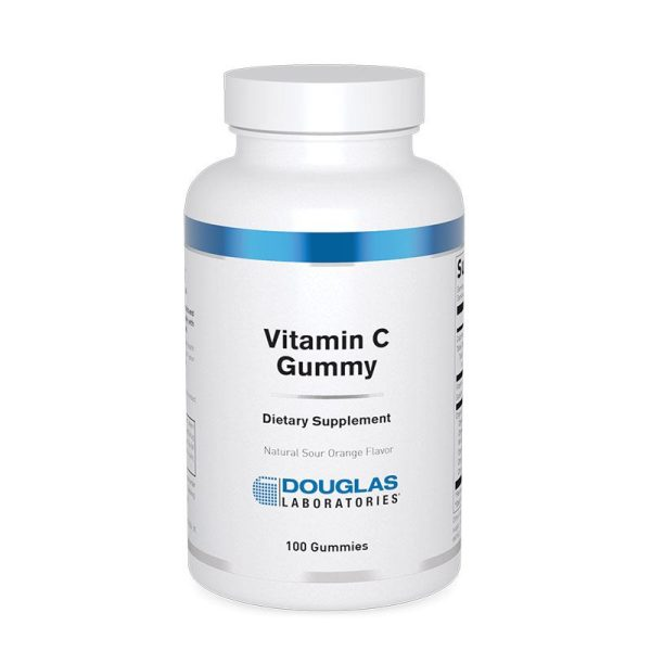 The front of bottle Vitamin C Gummy by Douglas Labs