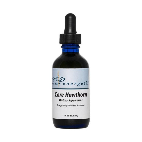 The front of bottle Core Hawthorn by Energetix