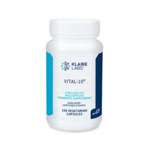 Klaire Labs Vital-10 Bottle
