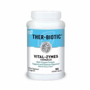 Klaire Labs Vital-Zymes Chewables Bottle