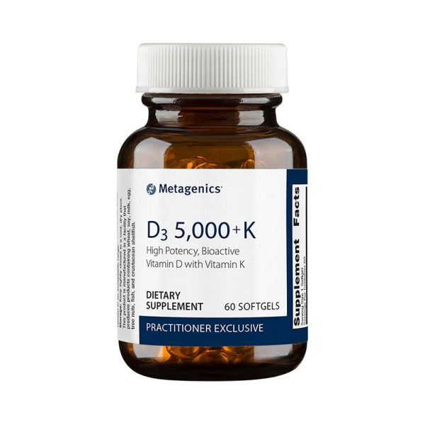 Metagenics D3 5000 + K Bottle