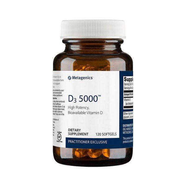 Metagenics D3 5000 Bottle