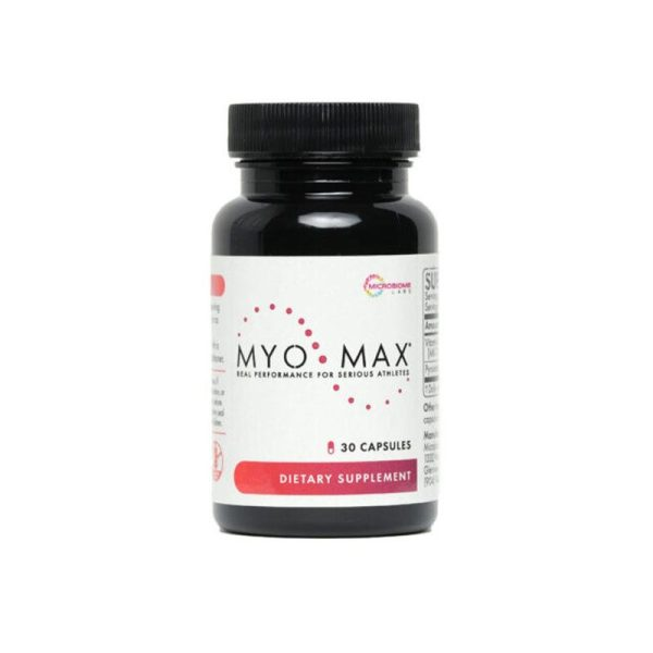 The front of bottle MyoMax Bottle by Microbiome Labs
