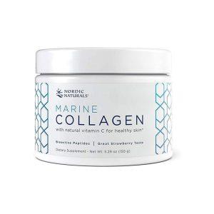 Nordic Naturals Marine Collagen (Strawberry Flavor) Container