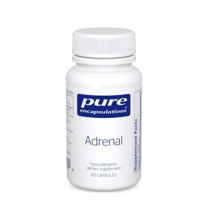 The front of bottle for Adrenal by Pure Encapsulations