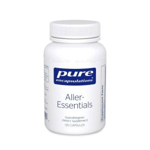 The front of bottle for Aller-Essentials by Pure Encapsulations