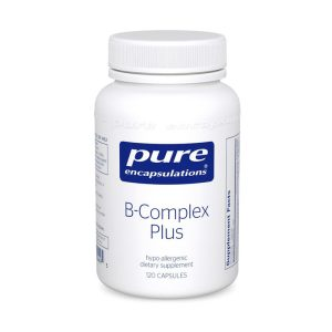 The front of bottle B-Complex Plus By Pure Encapsulations
