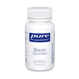 The front of bottle Boron Glycinate by Pure Encapsulations