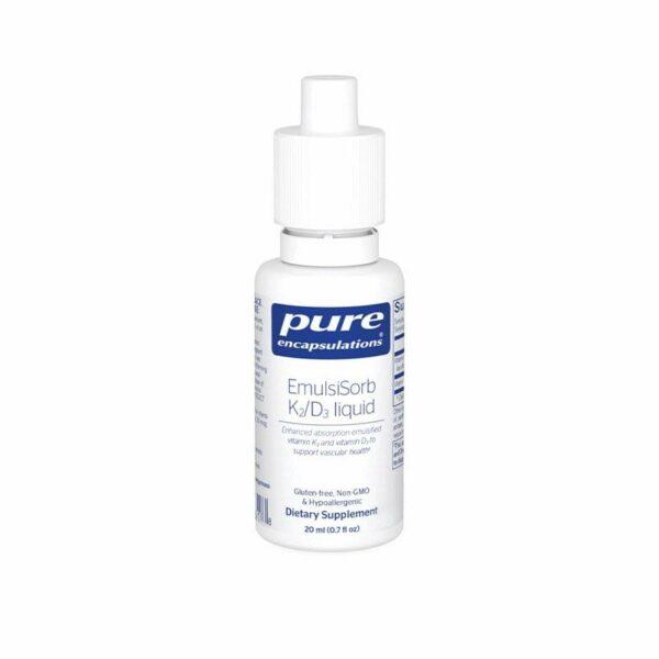 Pure Encapsulations EmulsiSorb K2/D3 liquid Bottle