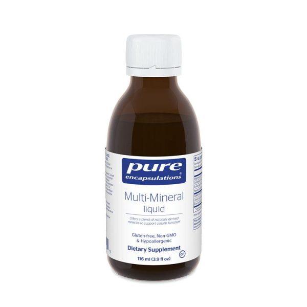 Pure Encapsulations Multi-Mineral Liquid Bottle