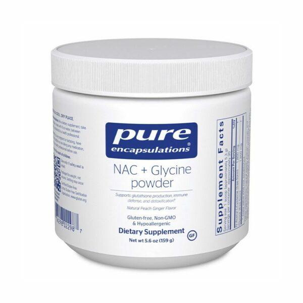 Pure Encapsulations NAC + Glycine Powder Bottle