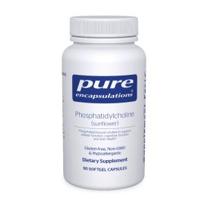 The front of bottle Phosphatidylcholine by Pure
