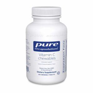 Pure Encapsulations Vitamin C Chewables Bottle