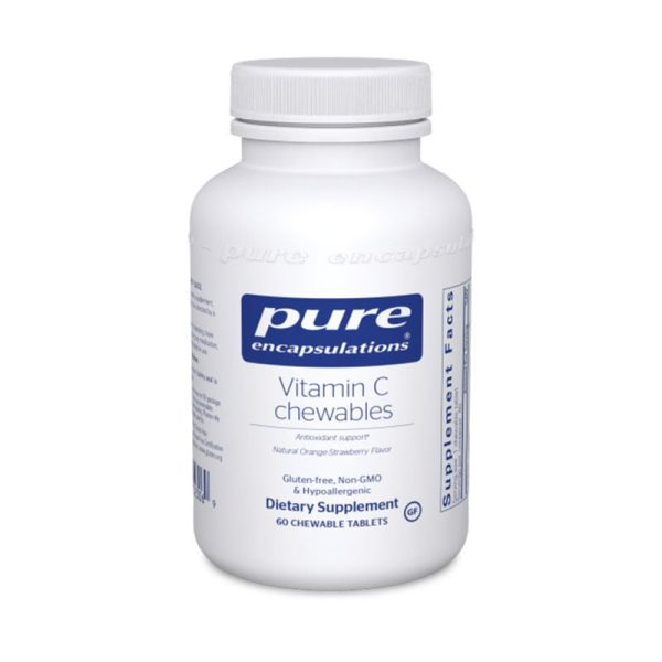 Pure Encapsulations Vitamin C Chewables Bottle