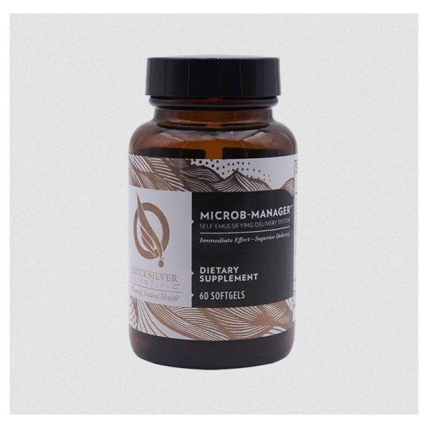 Quicksilver Scientific Microb-Manager Bottle