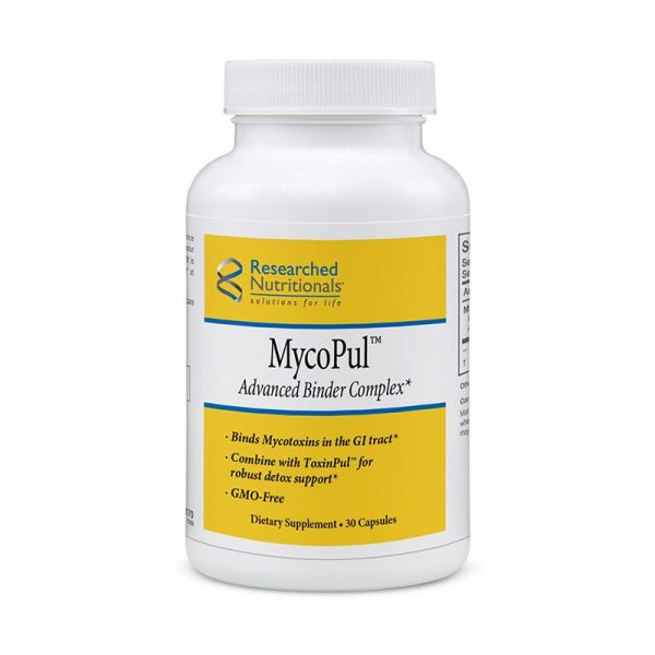 The front of bottle MycoPul by Researched Nutritionals