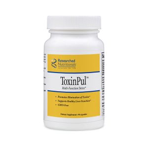 Researched Nutritionals ToxinPul bottle