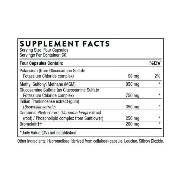 Thorne AR-Encap Supplement Facts