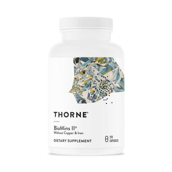 The front of bottle BioMins ll by Thorne