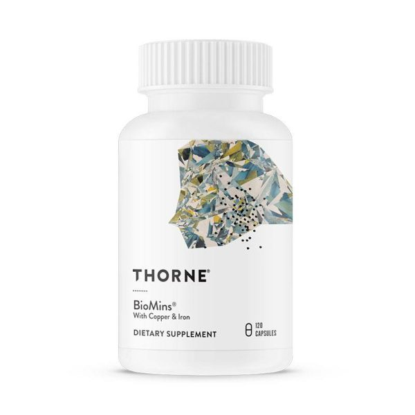 The front of bottle BioMins by Thorne