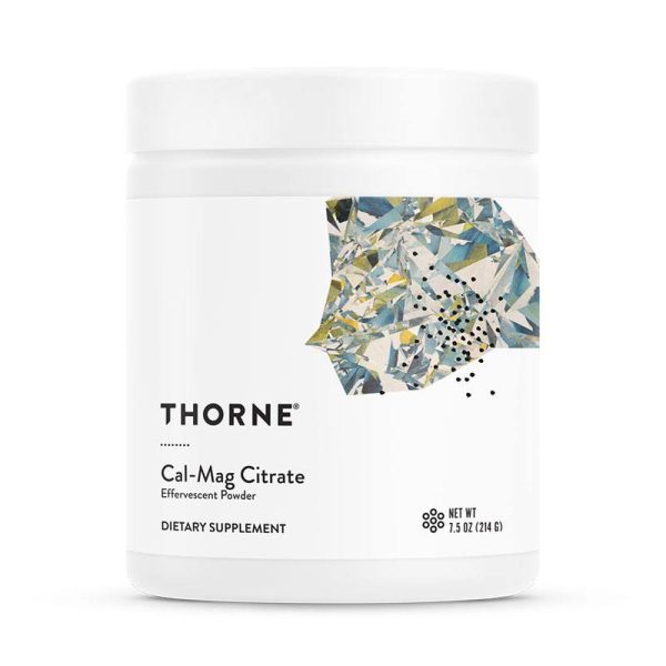 The front of bottle Cal-Mag Citrate by Thorne