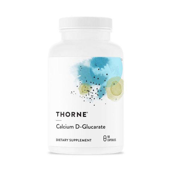 Thorne Calcium D-Glucarate Bottle