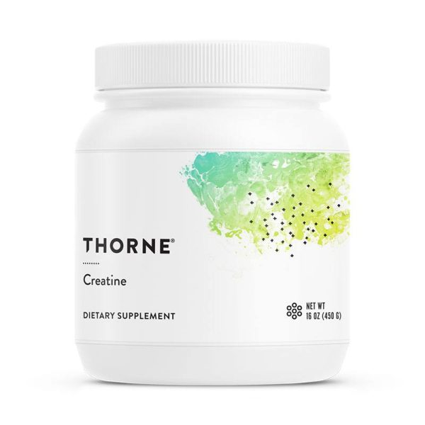 Front of Thorne Creatine Container