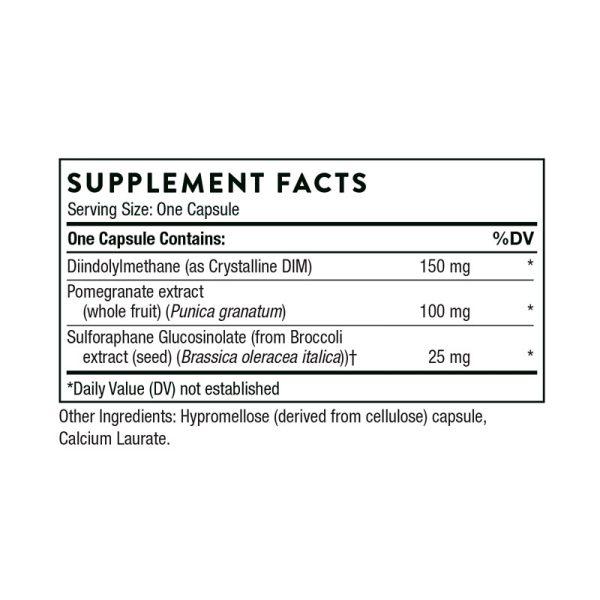 Thorne DIM Advantage Supplement Facts