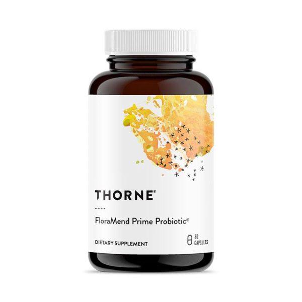 Thorne Flora Mend Prime Probiotic Bottle