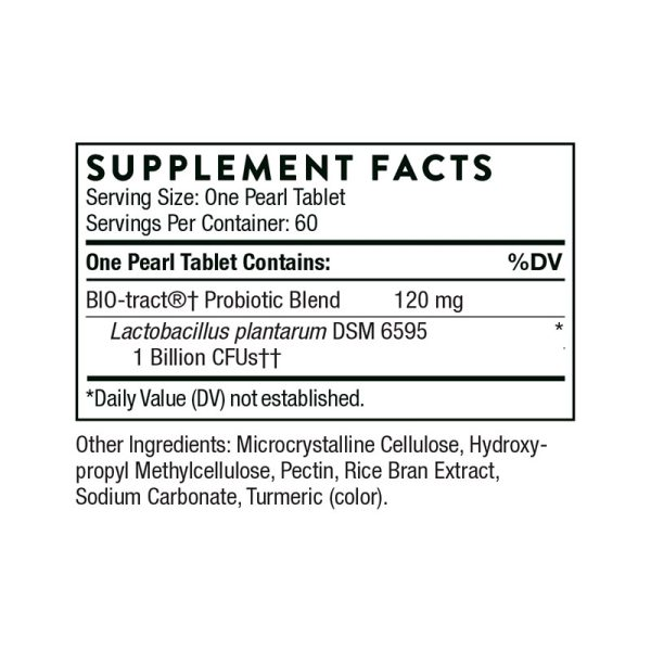Thorne FloraPro-LP Probiotic Supplement Facts