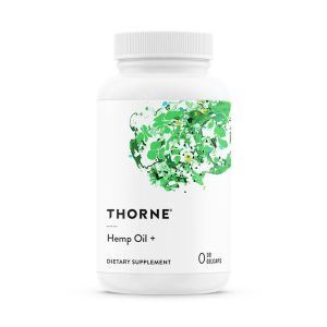 Thorne Hemp Oil+ Bottle