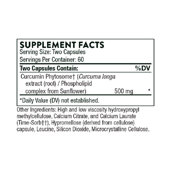 Thorne Meriva-SF Supplement Facts