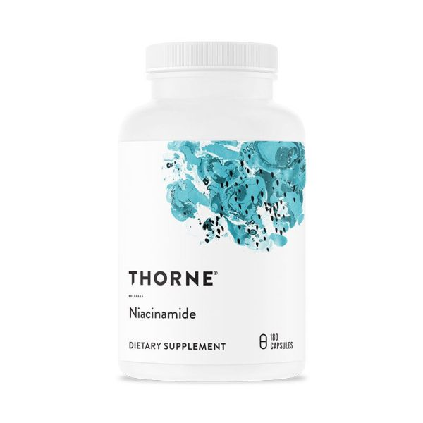 The front of bottle Niacinamide by Thorne