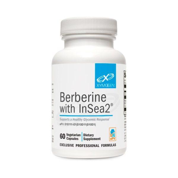 Xymogen Berberine with InSea2 Bottle