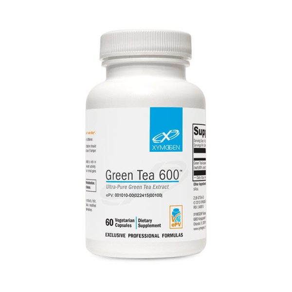 Xymogen Green Tea 600 Bottle