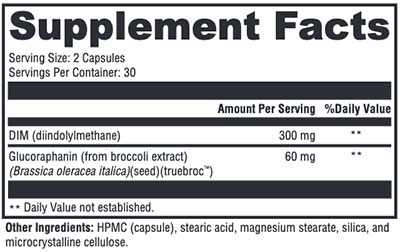 Xymogen Hormone Protect Supplement Facts