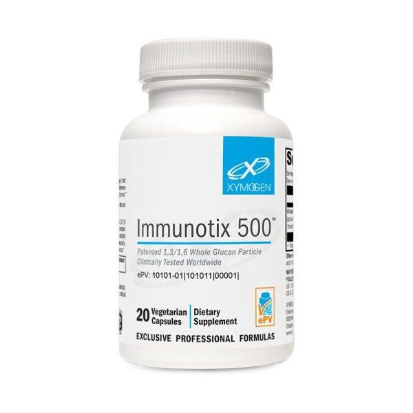 Xymogen ImmunotiX 500 Bottle