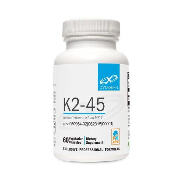 Xymogen K2-45 Bottle