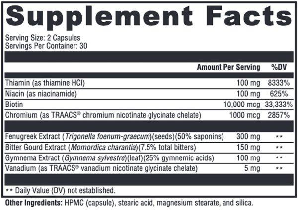 Xymogen MedCaps IS Supplement Facts