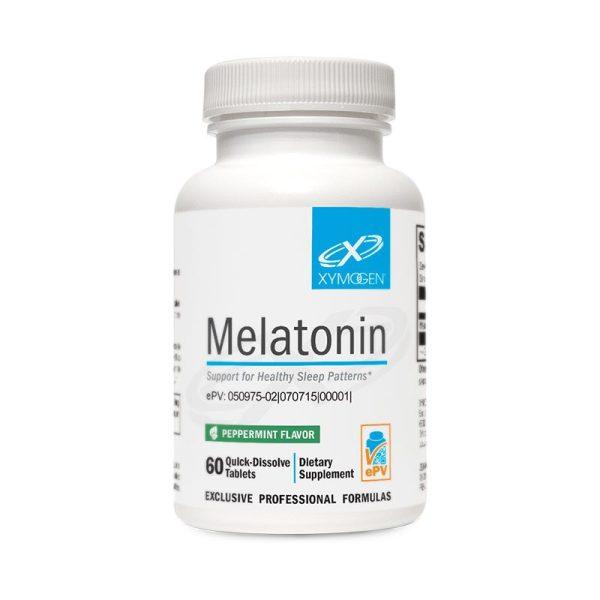 Xymogen Melatonin Peppermint Bottle